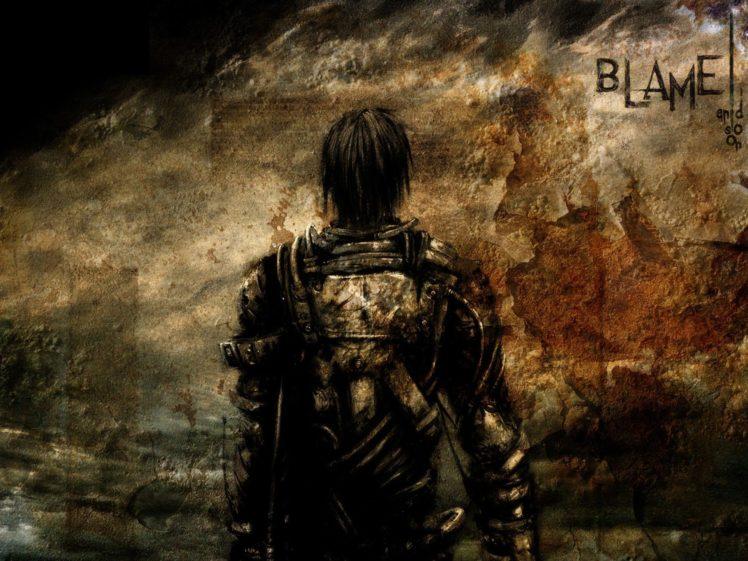 Blame!, Killy, Tsutomu Nihei HD Wallpaper Desktop Background