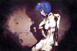 blue hair, Ayanami Rei, Neon Genesis Evangelion