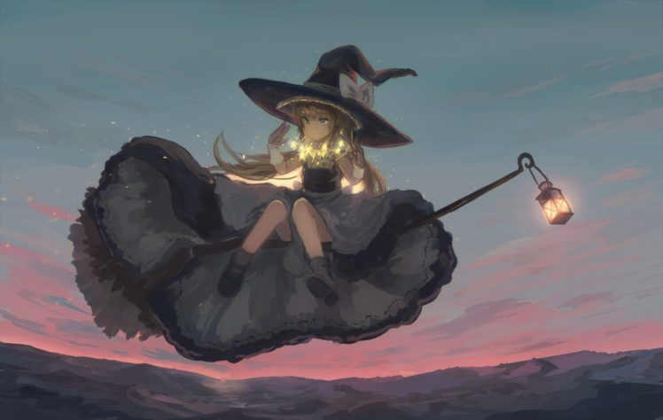 witch, Anime girls HD Wallpaper Desktop Background