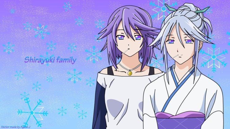 anime, Rosario + Vampire, Shirayuki Mizore HD Wallpaper Desktop Background