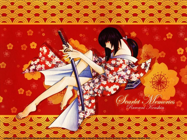 anime, Samurai X HD Wallpaper Desktop Background