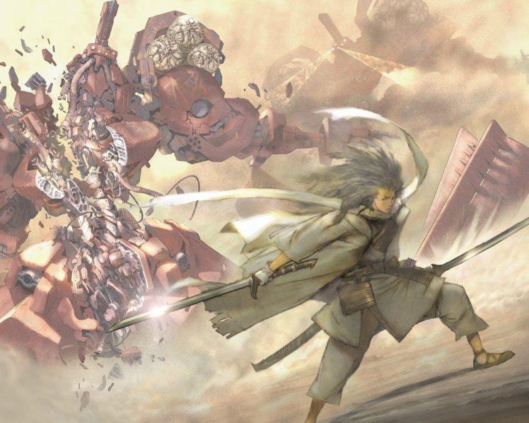 anime, Samurai 7 HD Wallpaper Desktop Background