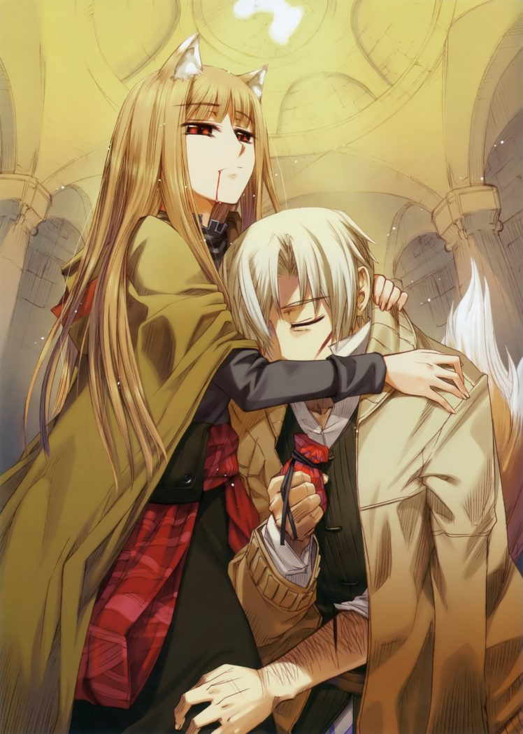 anime, Spice and Wolf HD Wallpaper Desktop Background