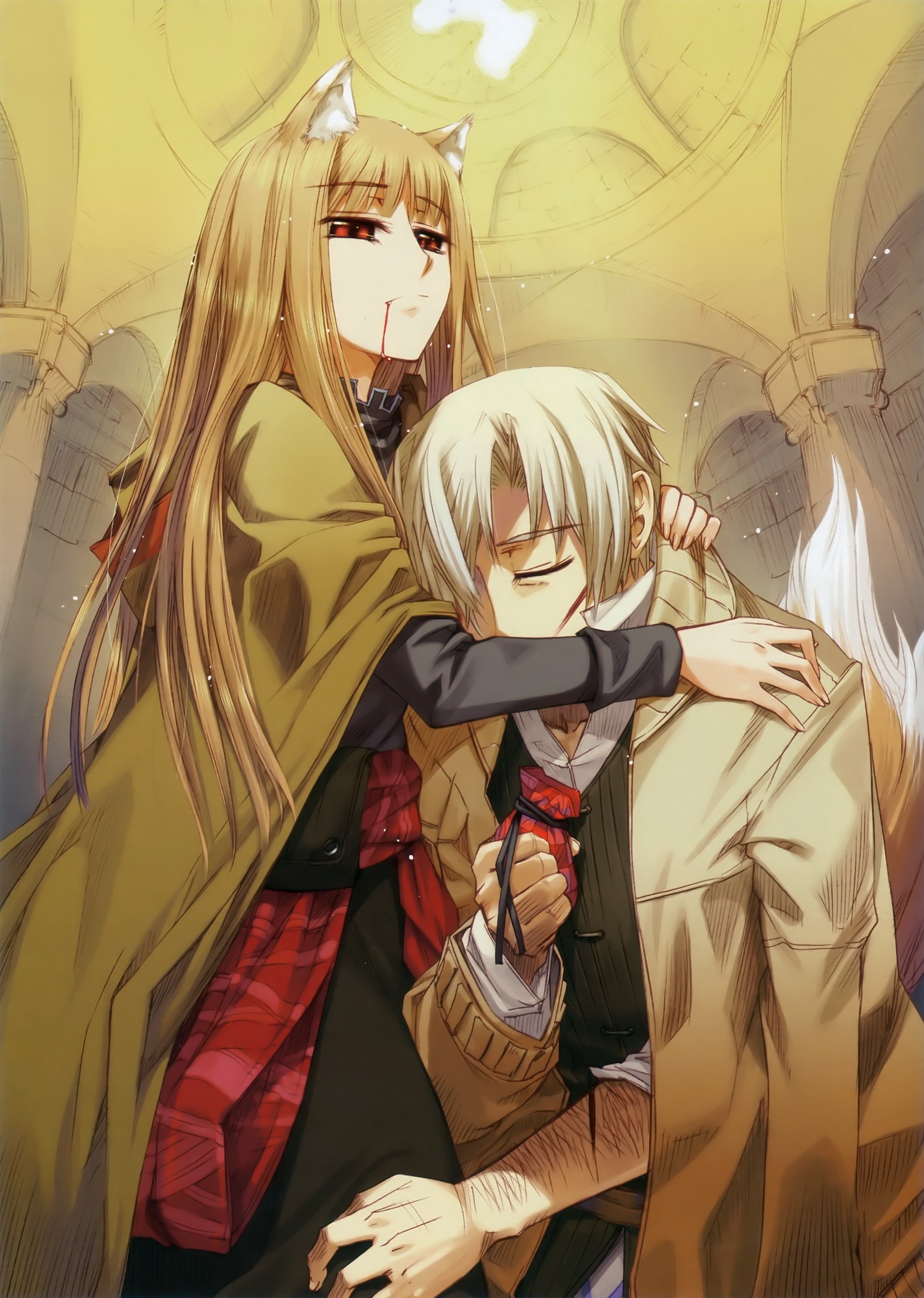 anime, Spice and Wolf Wallpaper