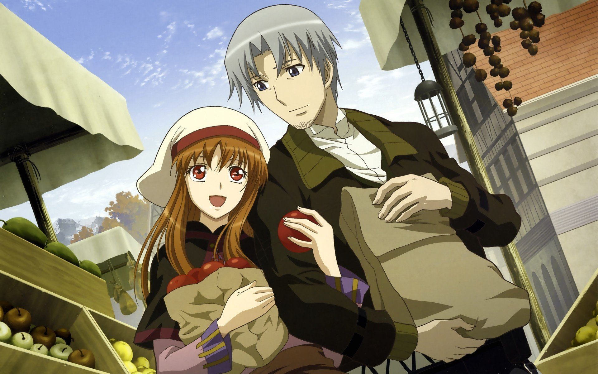 Anime Spice And Wolf Hd Wallpapers Desktop And Mobile Images