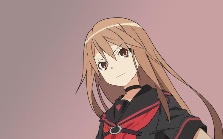 Ookami san to Shichinin no Nakama tachi, Anime girls, Ookami Ryouko HD Wallpaper Desktop Background
