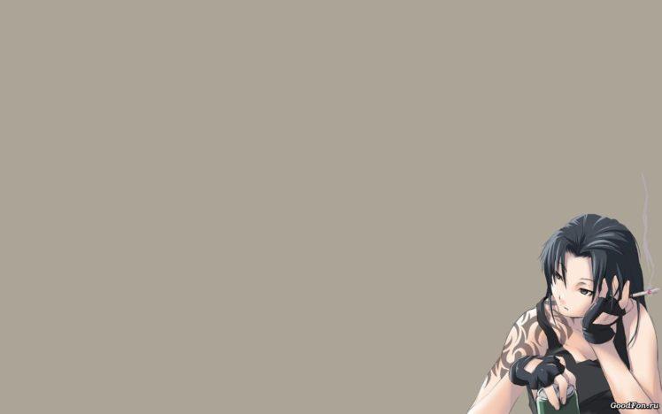 Black Lagoon, Revy, Anime girls, Anime HD Wallpaper Desktop Background