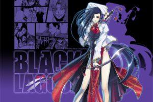 Black Lagoon, Shenhua, Anime girls, Anime