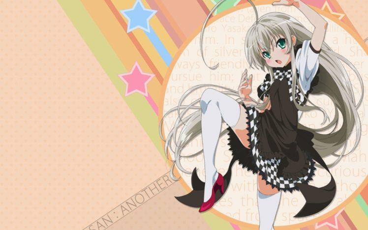 Haiyore! Nyaruko san, Anime girls, Nyaruko, Anime, Thigh highs HD Wallpaper Desktop Background