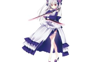 Absolute Duo, Anime girls, Sigtuna Julie, Thigh highs