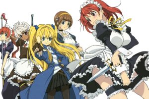 Seiken no Blacksmith, Anime girls, Cecily Cambell