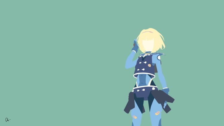 Heavy Object, Anime girls, Milinda Brantini HD Wallpaper Desktop Background