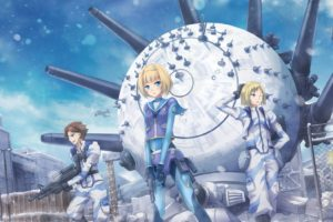 Heavy Object, Winchell Havia, Barbotage Qwenthur, Milinda Brantini, Anime