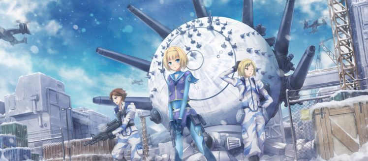 Heavy Object, Winchell Havia, Barbotage Qwenthur, Milinda Brantini, Anime HD Wallpaper Desktop Background