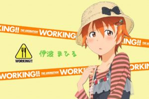 Working!!, Anime girls, Inami Mahiru