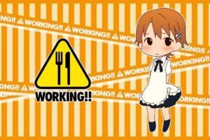 Working!!, Anime girls, Inami Mahiru