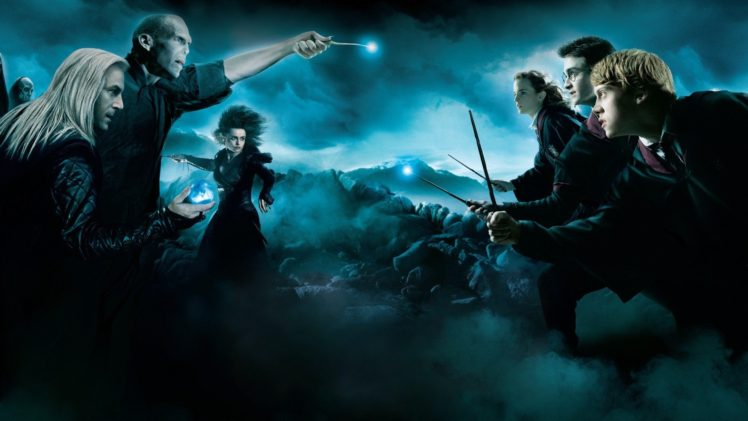 Harry Potter Lord Voldemort Lucius Malfoy Hermiona Granger Ron Weasley Hd Wallpapers Desktop And Mobile Images Photos