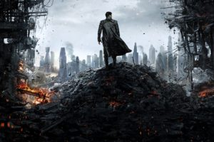 Star Trek, Star Trek Into Darkness, Khan, Destruction, London, Benedict Cumberbatch