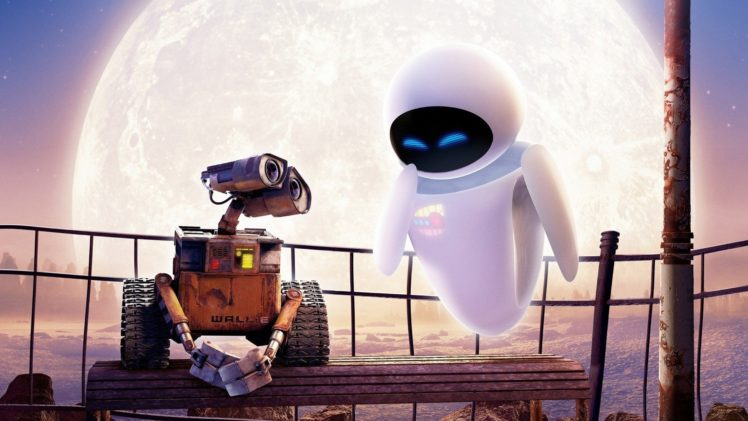 Disney, Disney Pixar, WALL·E, Eva, Moon, Robot HD Wallpapers ...