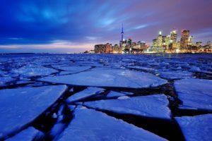 cityscape, Toronto, Canada, CN Tower