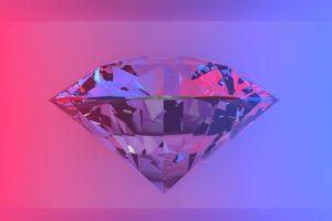 Cinema 4D, Diamonds, Jewels
