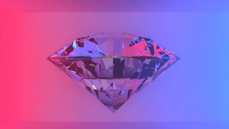 Cinema 4D Diamonds Jewels HD Wallpaper Desktop Background