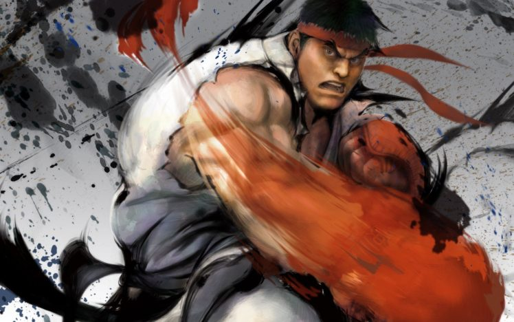 Ryu (Street Fighter), Street Fighter HD Wallpaper Desktop Background