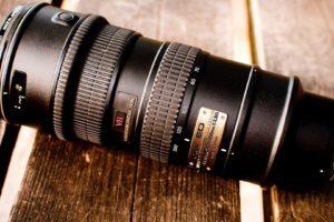 camera, Closeup, Nikon, Wooden surface