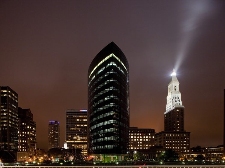 city, Cityscape, Night HD Wallpaper Desktop Background