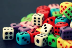 colorful, Closeup, Dice, Cube, Simple