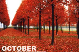 october, Month
