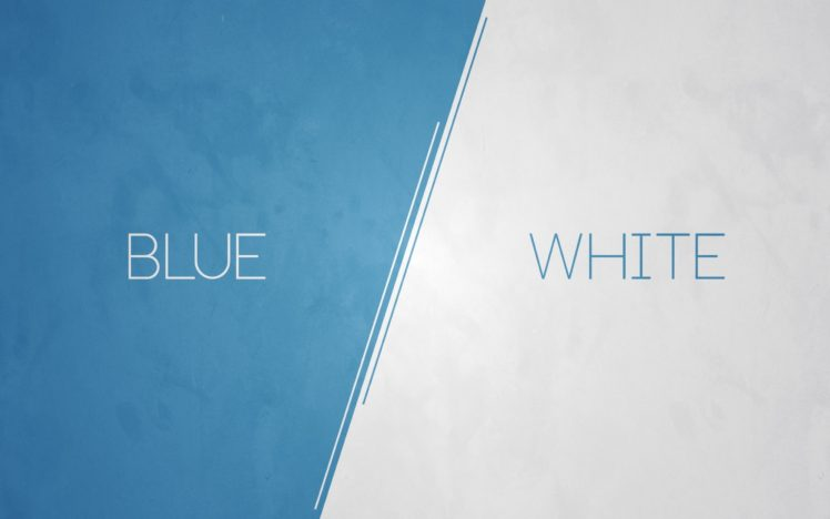 Blue White Simple Hd Wallpapers Desktop And Mobile