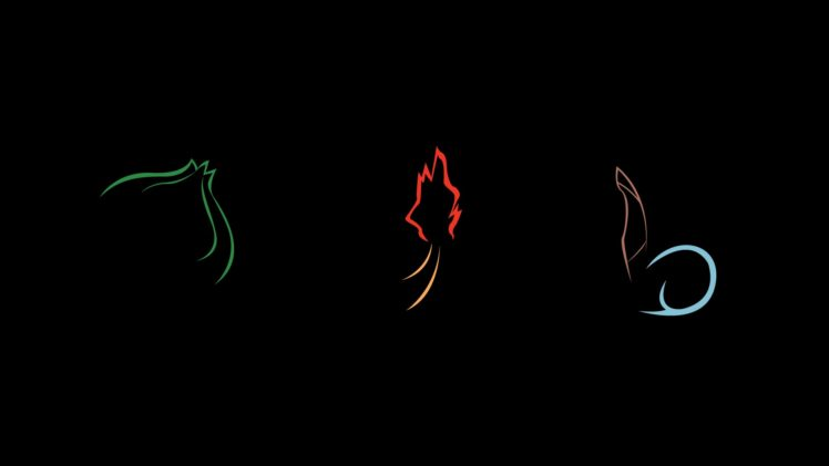 Elements Charmander Bulbasaur Squirtle Hd Wallpapers