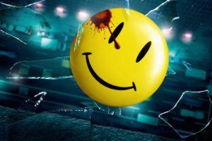 Watchmen, Broken glass, Blood stains, Falling, Road, Smiley