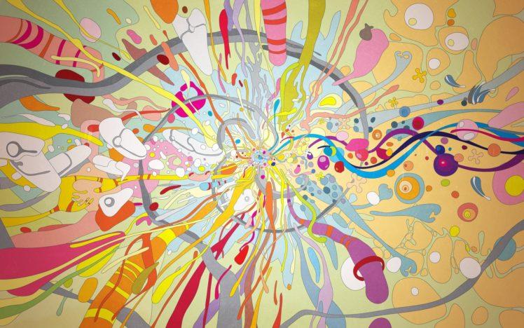 psychedelic, Colorful HD Wallpaper Desktop Background