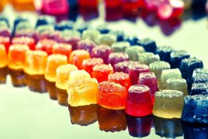gummy bears, Jelly, Colorful, Photography, Simple, Macro