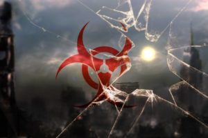 biohazard, Broken glass