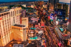 Las Vegas, Cityscape, Skyscraper, Hotels