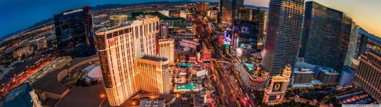 Las Vegas Cityscape Skyscraper Hotels Hd Wallpapers Desktop And Mobile Images Photos