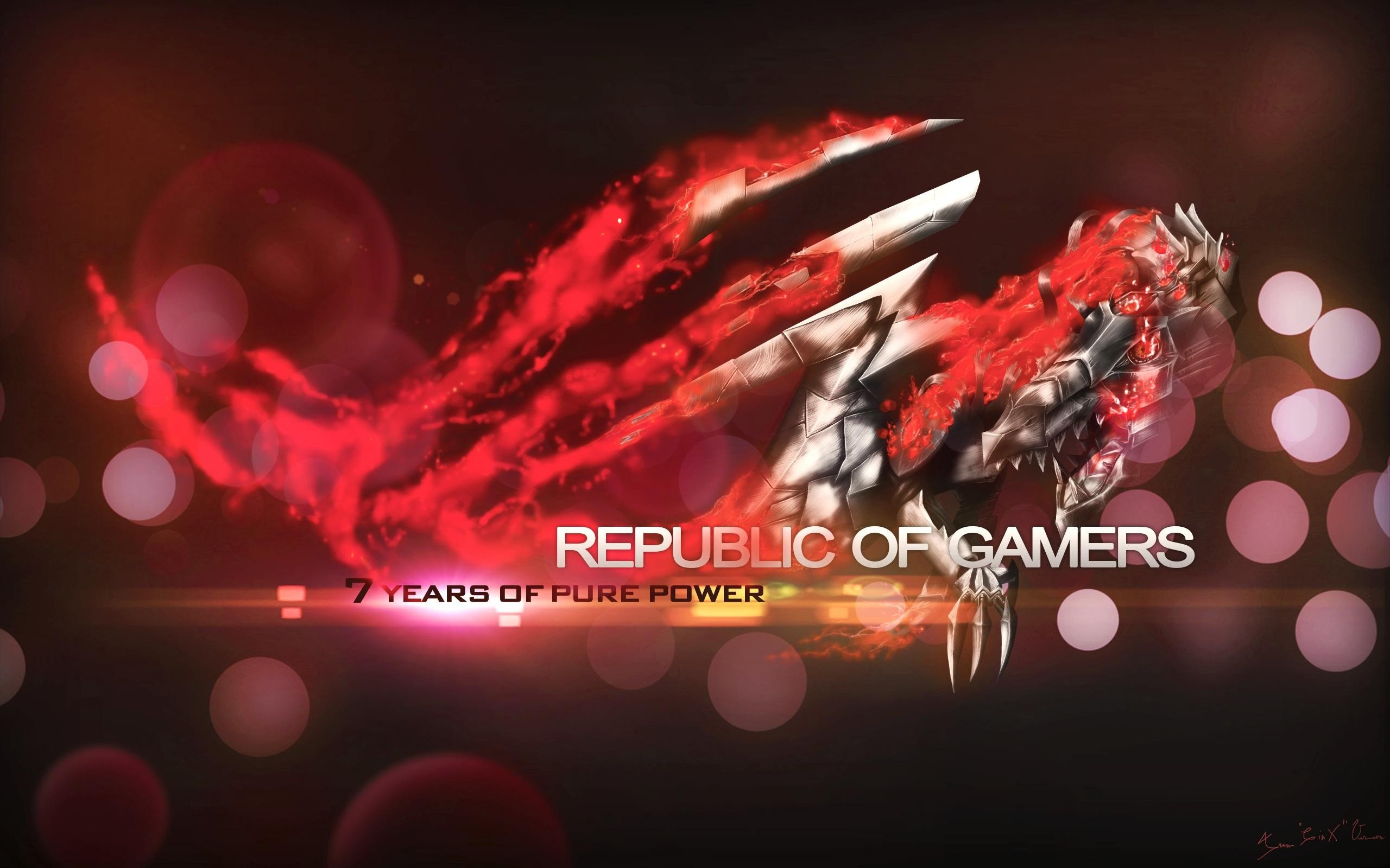 ASUS ROG, Republic Of Gamers, ASUS HD Wallpapers / Desktop