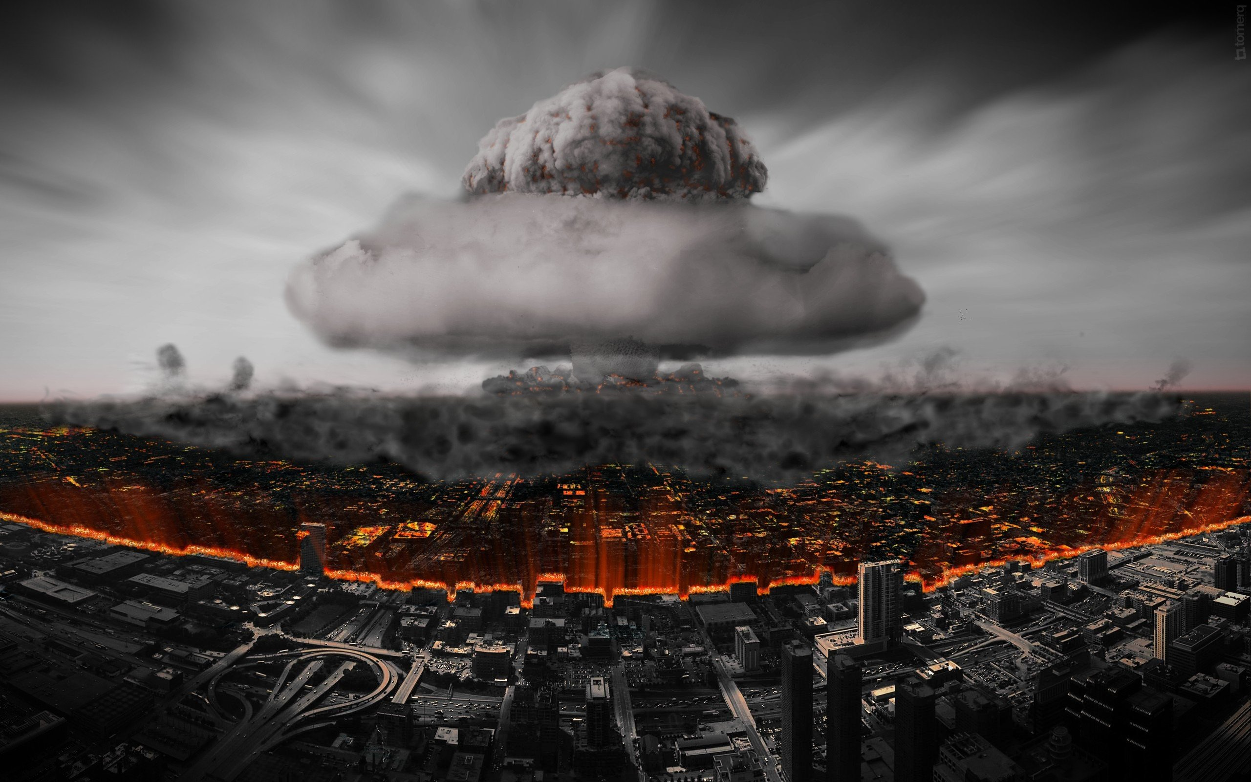 apocalyptic, Nuclear Wallpaper