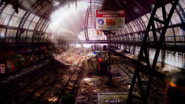 apocalyptic, Roy Korpel HD Wallpaper Desktop Background