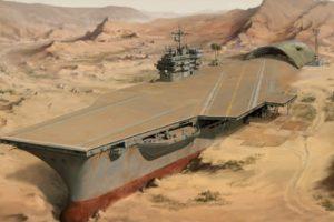 apocalyptic, Animation, Desert