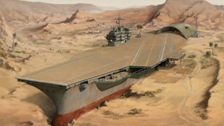 apocalyptic, Animation, Desert HD Wallpaper Desktop Background