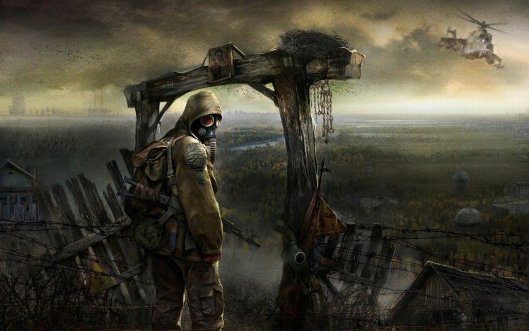 apocalyptic, Gas masks, Ukraine HD Wallpaper Desktop Background
