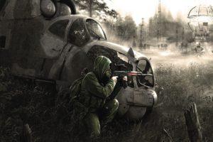 apocalyptic, Gas masks, Ukraine, S.T.A.L.K.E.R.