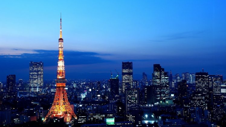 Tokyo Tower Japan HD Wallpaper Desktop Background