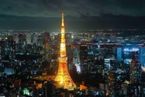 Tokyo, Tokyo Tower, Japan, Cityscape
