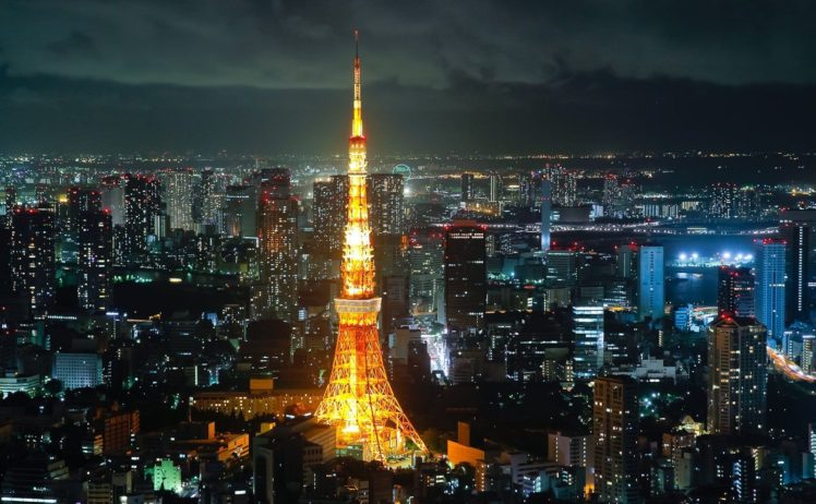 Tokyo Tokyo Tower Japan Cityscape Hd Wallpapers Desktop