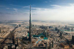 Burj Khalifa, Cityscape, City, Building, Dubai
